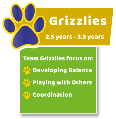 Age Group Grizzlies